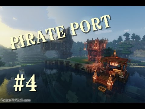 Minecraft Lets Build Pirate Ship