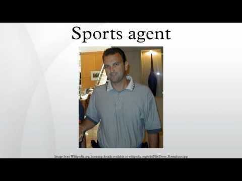 Sports agent