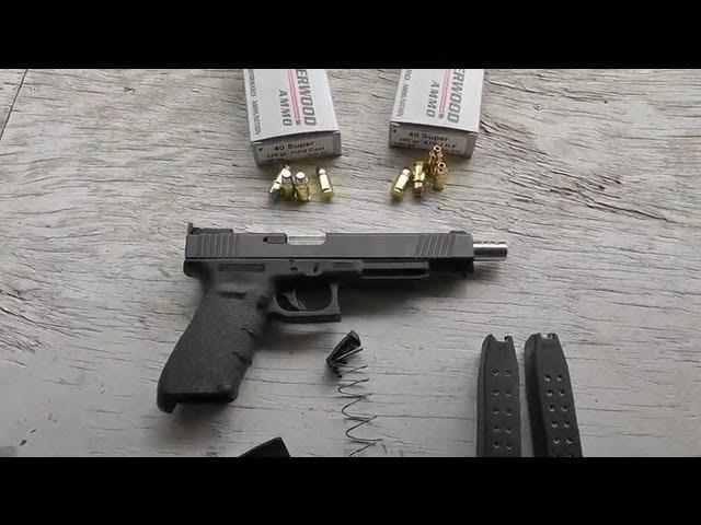 Glock 21 40 Super 13rd Mag Fix - YouTube