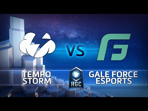 HGC NA Phase 1 Game 1 - Gale Force eSports vs Tempo Storm