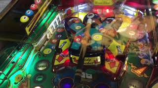 Gottlieb's Cue Ball Wizard Pinball Machine. A quick overview.