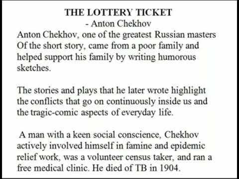 the lottery ticket by anton chekhov conflict