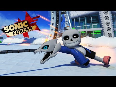 Sonic Forces - Sans Avatar Mod |