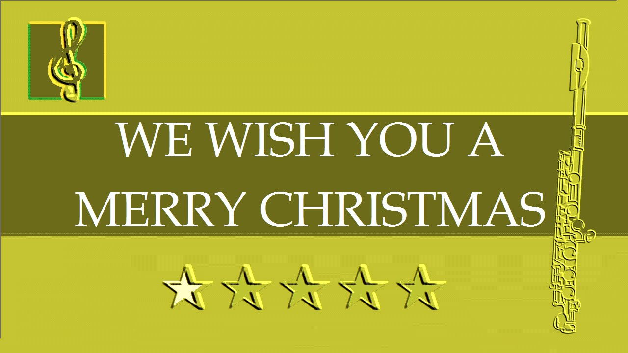 Flute Guitar Duet We Wish You A Merry Christmas Sheet Music