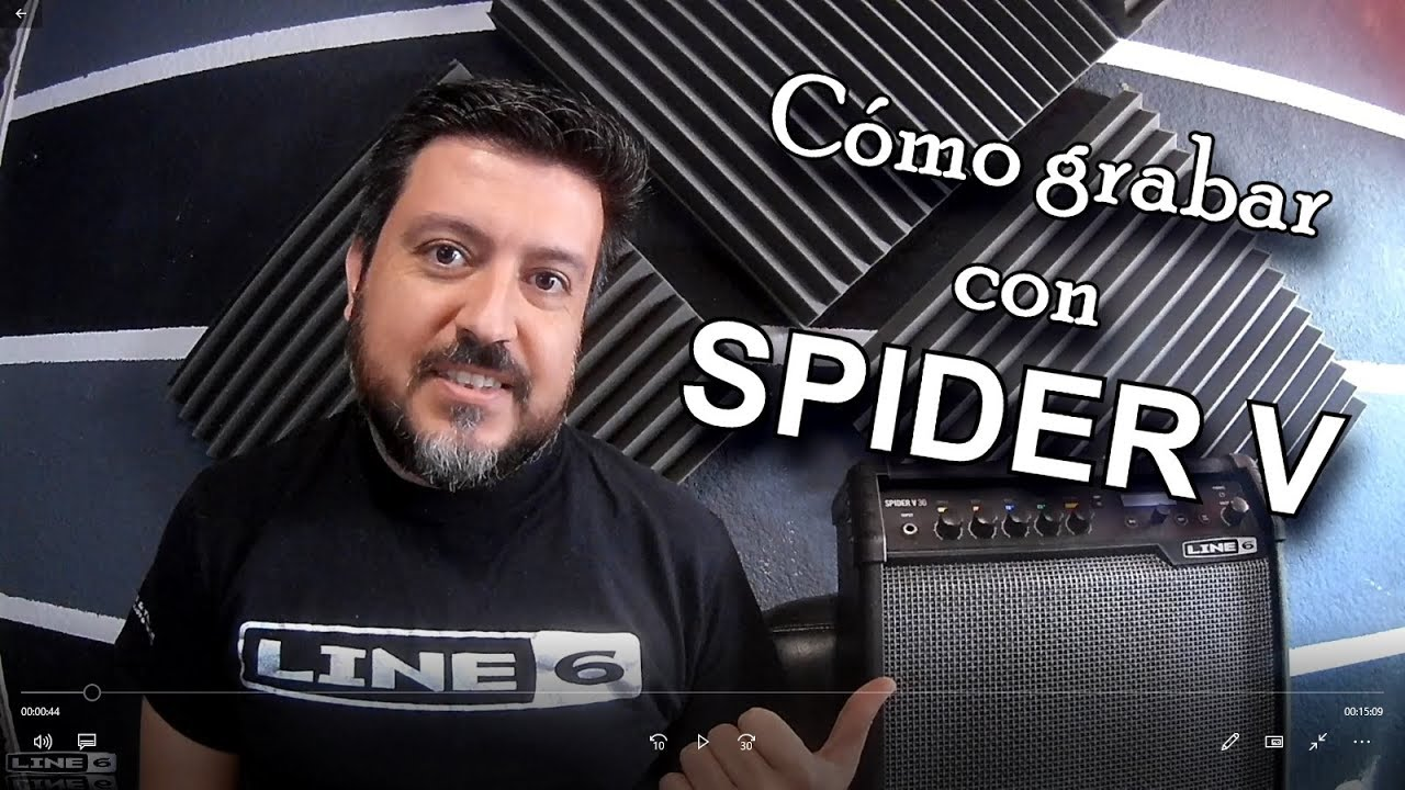 Cómo grabar con Spider V - Spider V30 - Cubase Pro 10 - YouTube