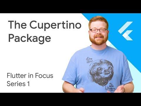 cupertino library - Dart API