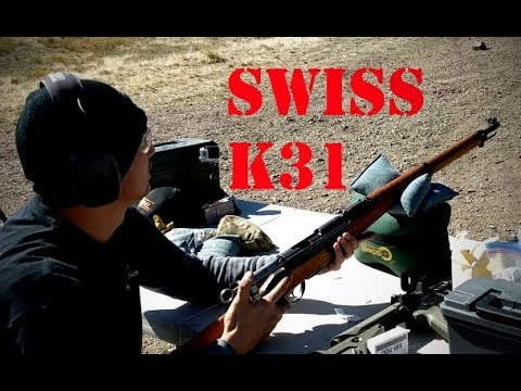 taking the swiss k31 out to 400 yards w gp11 surplus ammo youtube