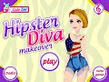 Hipster Diva Makeover- Fun Online Fashion Games for Girls Teens