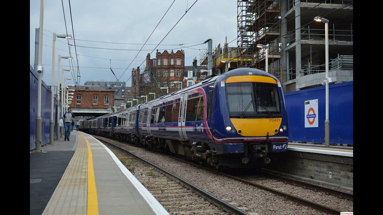 Scotrail Turbostars in London! - YouTube