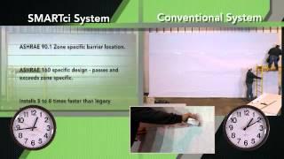 terminating insulation panels