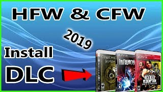 How To Install Game DLC On HFW or CFW PS3 Work For All Games