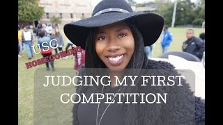 Judged My First Competition | USC Homecoming 2018 | Stroll Off Competition | Kelstells