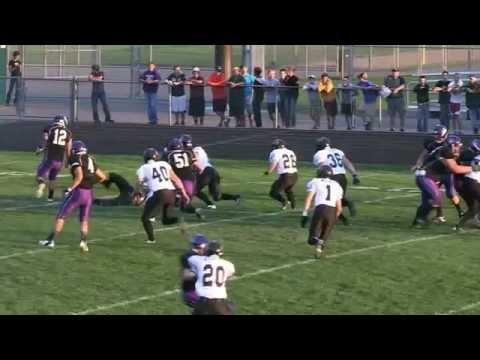 Hutchinson Tiger Football Highlights 2012
