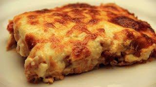 Bechamel Hähnchen im ofen Rezept mit Kartoffeln und Käse