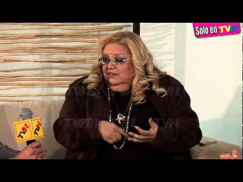 Las drogas hunden a Lucía Méndez