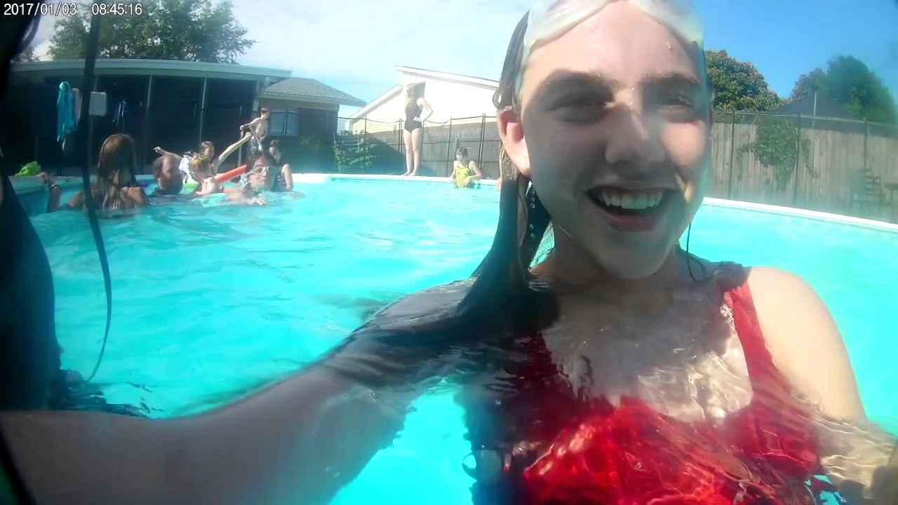 Birthday 7th pool party - YouTube