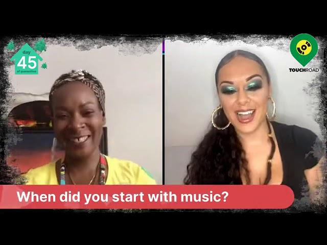 Touchroad Interviews Reggae Artist Aleighcia Scott@Shutterdown Festival Uk, LiveVirtual Festival2020