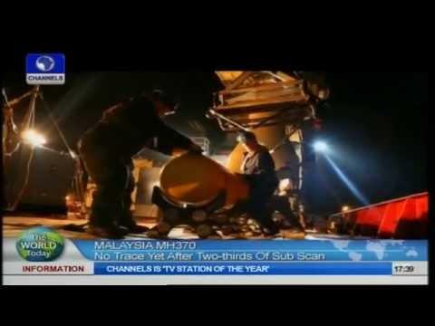 Submarine Scanning Ocean Floor For Missing Malaysian Plan