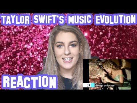 TAYLOR SWIFT MUSIC EVOLUTION - REACTION