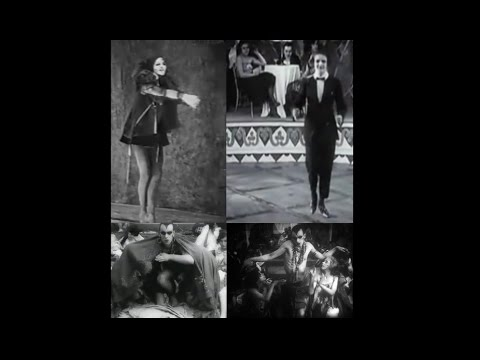 Anita Berber and Sebastian Droste - Epitomes of 1920s Wiemar Republic Excess - Dancing on Film