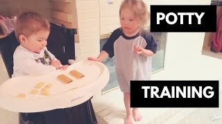 Potty Training Day 1 and 2!