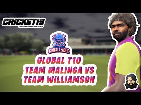 [EP11] 300 Runs In A T10 Game 👀 • Team Malinga 💛 Vs Team Williamson • Global T10 🌏 • Cricket 19 🏏✔