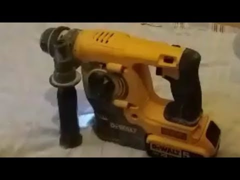 How To Replace the brushes in a Dewalt DCH253 SDS Drill (Part 1)