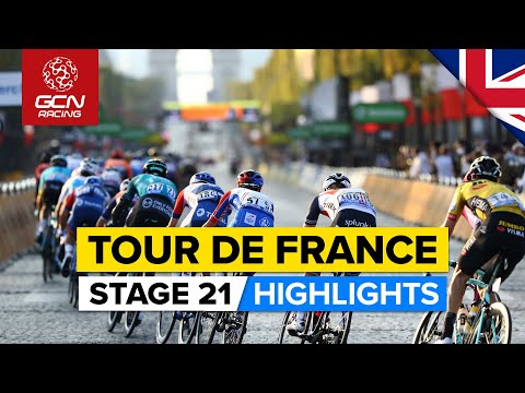 Tour de France 2021 Stage 21 Highlights | Can Cavendish Take The Record On The Champs-Élysées? |
