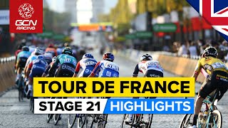 Tour de France 2021 Stage 21 Highlights   Can Cavendish Take The Record On The Champs-Élysées?