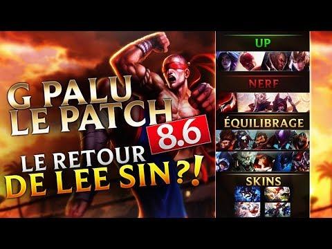 LE RETOUR DE LEE SIN ?! - G PA LU LE PATCH 8.6 thumbnail