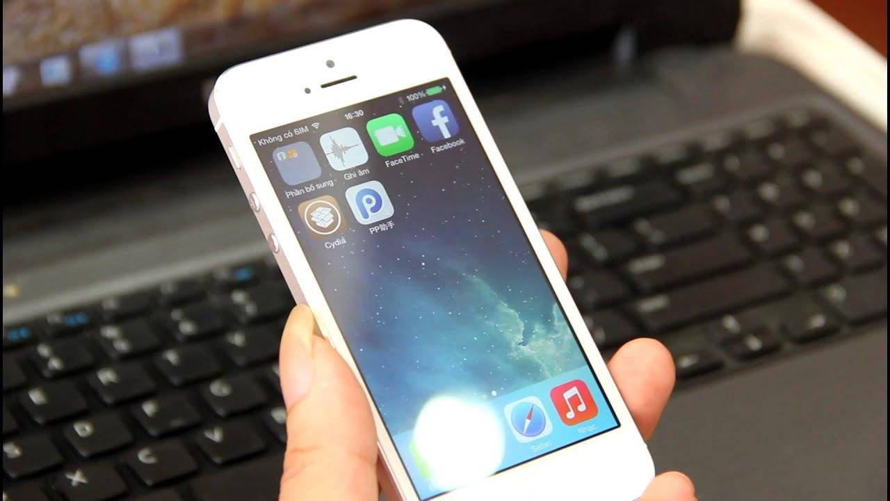 [Nology.vn] Hướng dẫn Jaibreak, fix lỗi cho Iphone 4/4s/5/5s Lock trên iOS  7x - YouTube