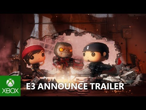 Funko представили новую серию игрушек на основе Gears of War