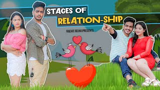 STAGES IN TEENAGER'S RELATION-SHIP || Rachit Rojha