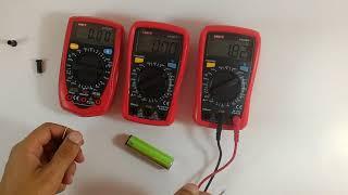 Обновленные мультиметры UT33 series plus