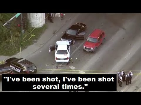 Officer Shot 4x Saved by CCW Citizen