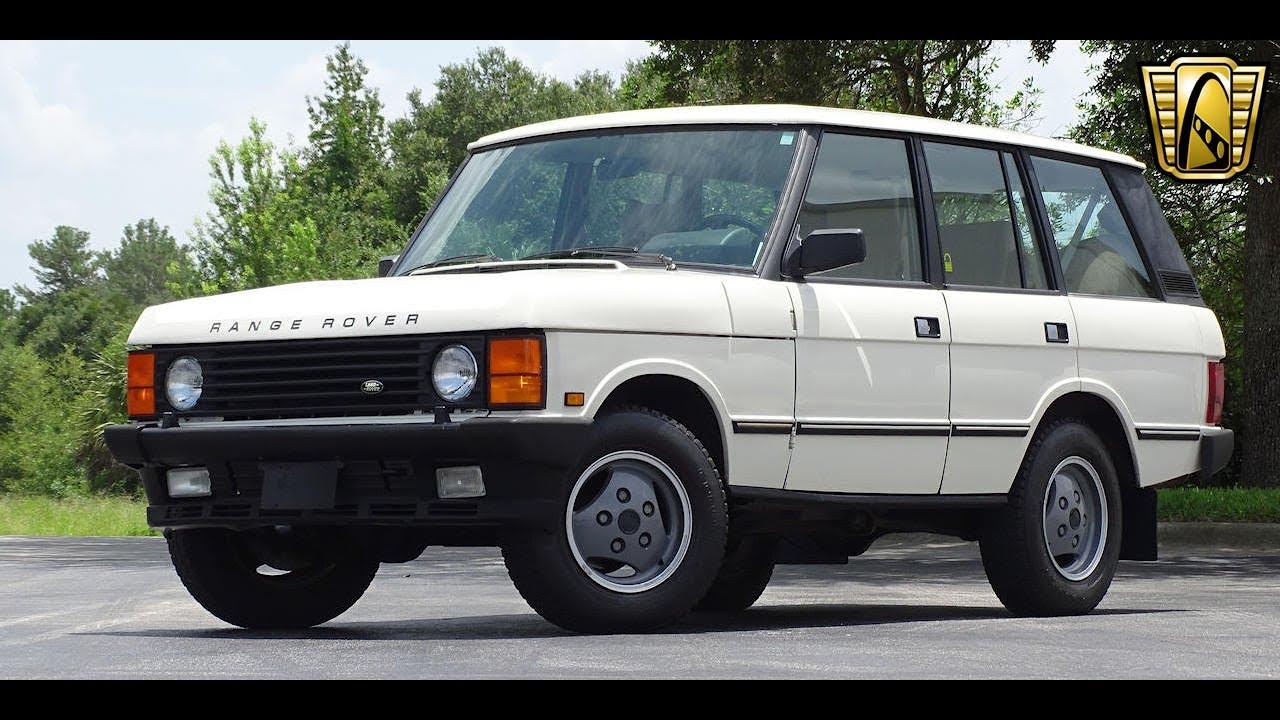 Range Rover Orlando >> 1989 Land Rover Range Rover Gateway Orlando 899
