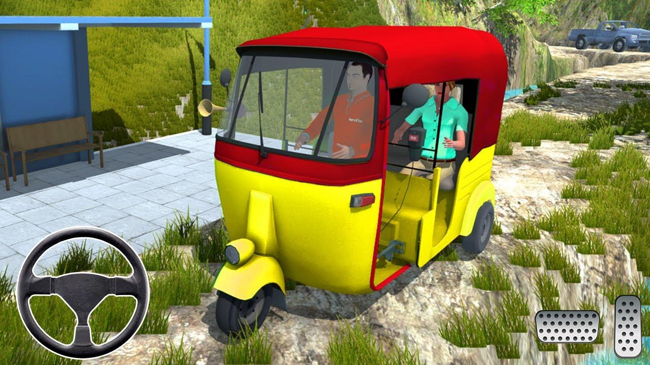 سائق النقل توك توك محاكي - توك توك محاكاة قيادة السيارات - محاكي القيادة - العاب سيارات
