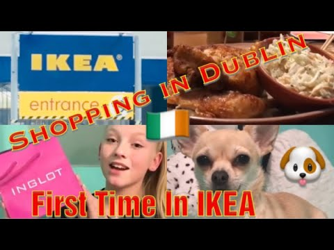 First Time In IKEA❤️Shopping in Dublin❤️Meet Princess❤️👑 Tidy My Room