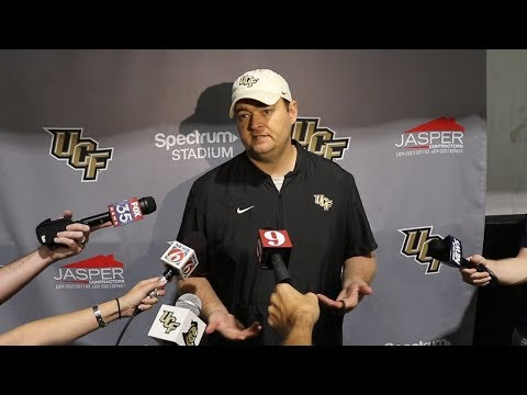 UCF coach Josh Heupel talks South Florida game, Thanksgiving