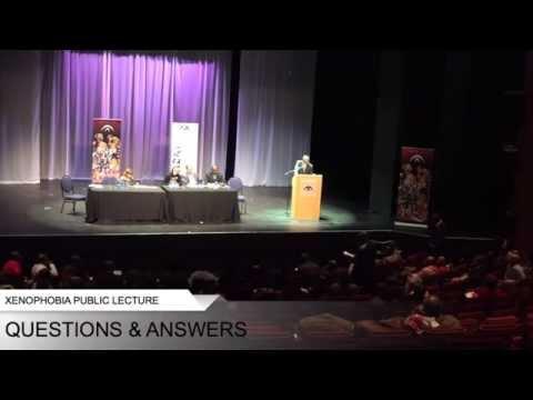 SFONSA Xenophobia Public Lecture