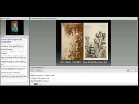 C2CC Caring for Photographs Webinar 2: Technological Development of Photography Part 1