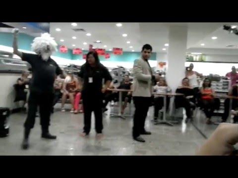 Teatro Águia, peça: Dia-Dia do Funcionário na Visão João Alfredo