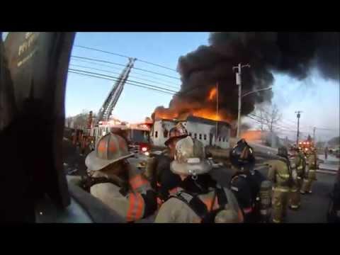 4th Alarm Commercial Building Fire - Wyandotte Road - Upper Moreland 3/2/15