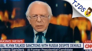 CNN Cuts Bernie Sanders Mic Abruptly After He Calls CNN FAKE NEWS!