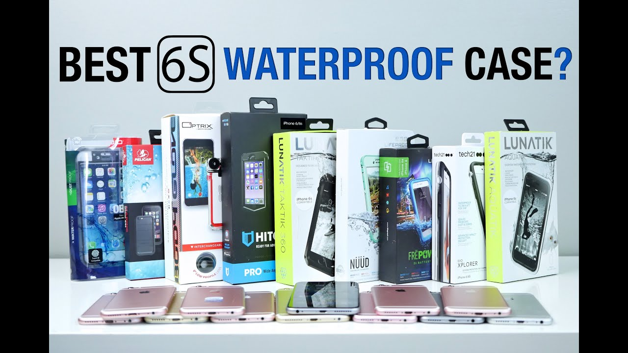 promo code 47520 07981 Best Waterproof iPhone 6S Case? 10 Most Popular Cases Test