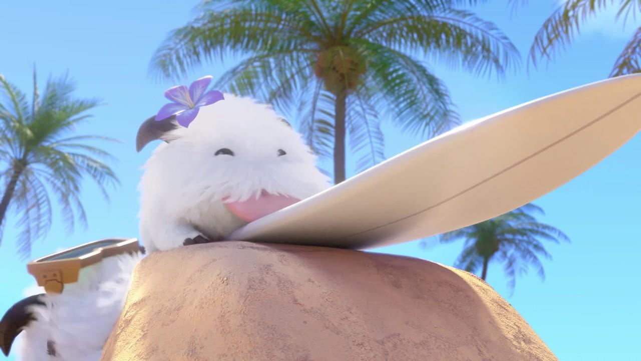 De Fiesta en (la Piscina) la Playa con Poros | Trailer