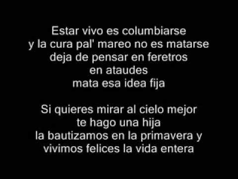 """Idea Fija"" Cumbia Ninja (Version CD completo) con LETRA"