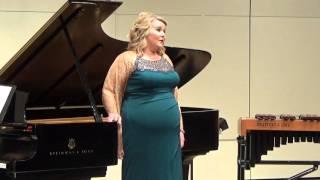 Senior Recital 2015  La Maja y el Ruiseñor-Granados