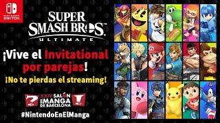 Super Smash Bros. Ultimate - Invitational por parejas en el Salón del Manga (Nintendo Switch)