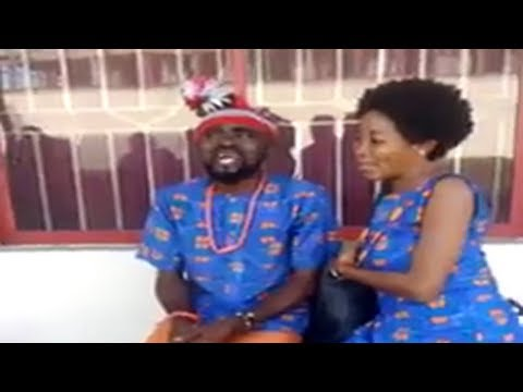 Chief Imo Comedy || Sister Maggi and husband Chief Imo during rehearsal about the wedding